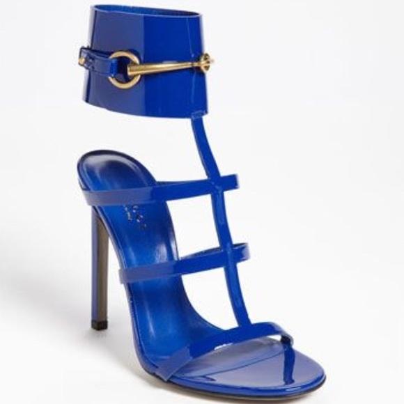 e009ffbec Gucci Shoes | Royal Blue Ursula Size 38 Worn 78 Times | Poshmark